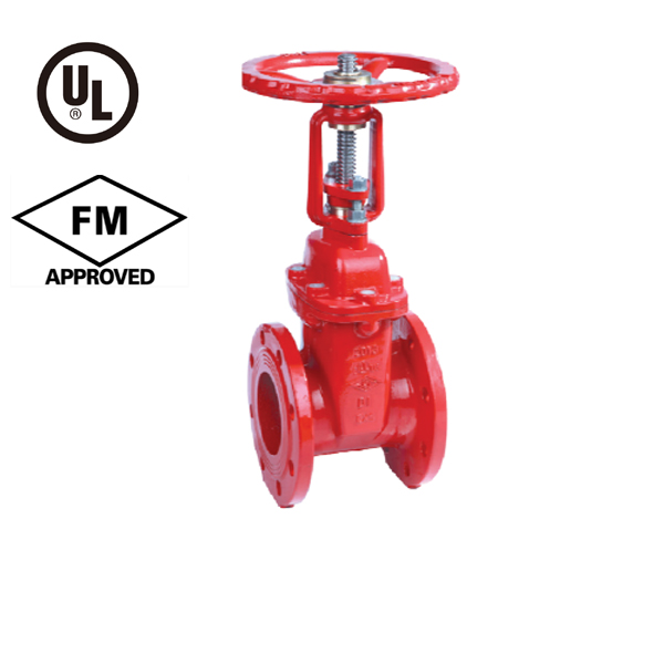BS 5163 Flanged Resilient OS&Y Gate Valve