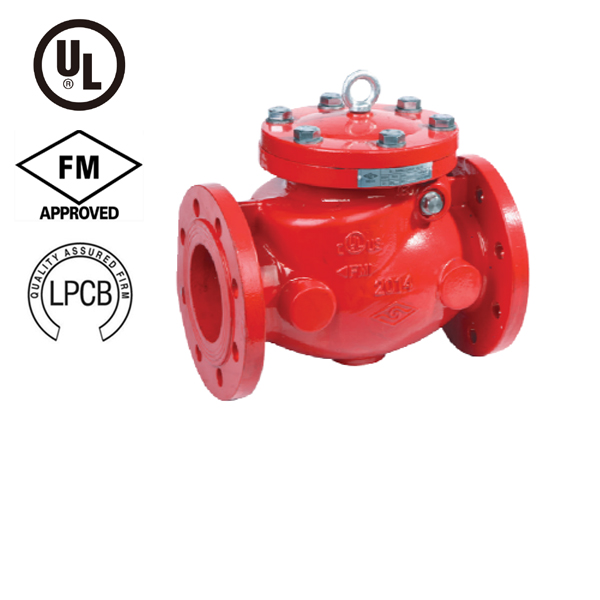 Flanged Resilient Swing Check Valve , PN10/16, UL/FM/LPCB Approved, H44X2