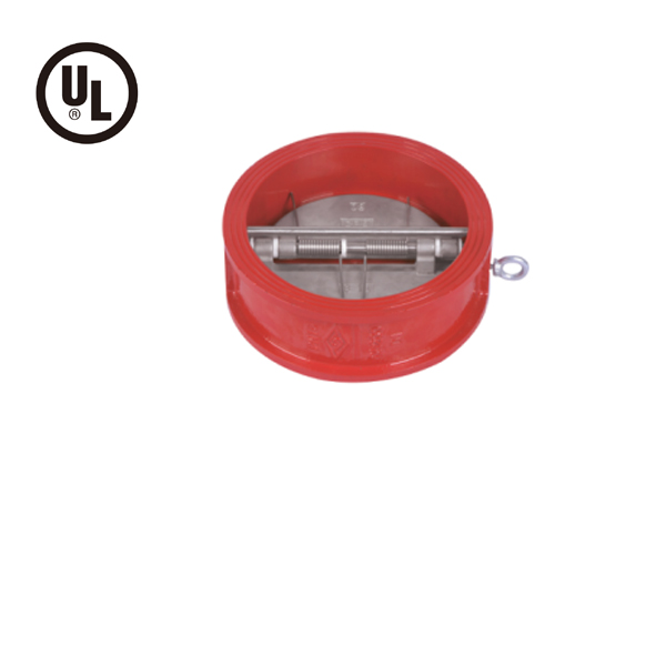 Double Door Wafer Check Valve  PN10/16, UL Listed, DH77X