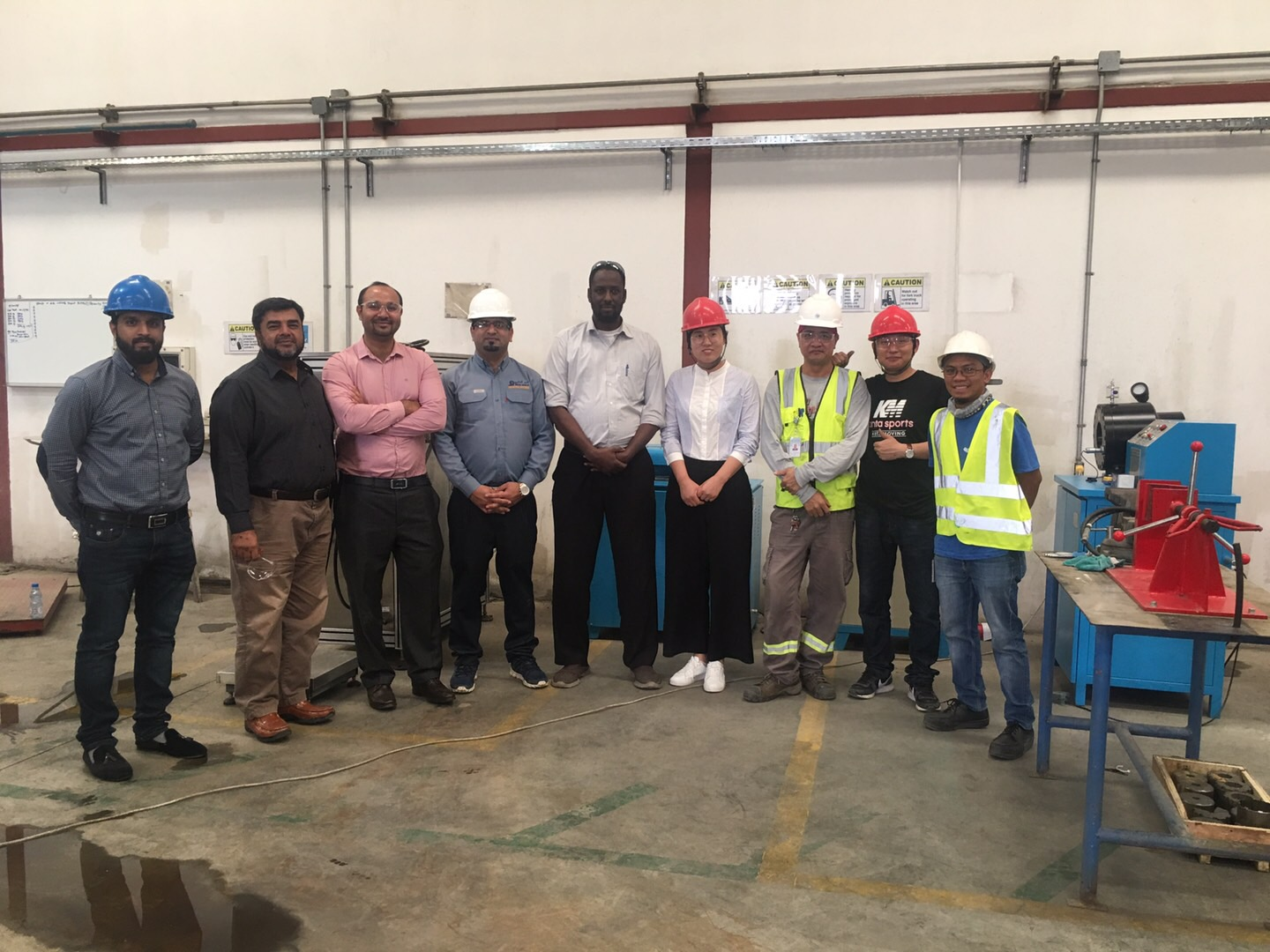 The training of Fire Extinguishers Filling Machine in Saudi Arabia